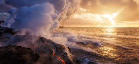 lava meets ocean to form zeolites